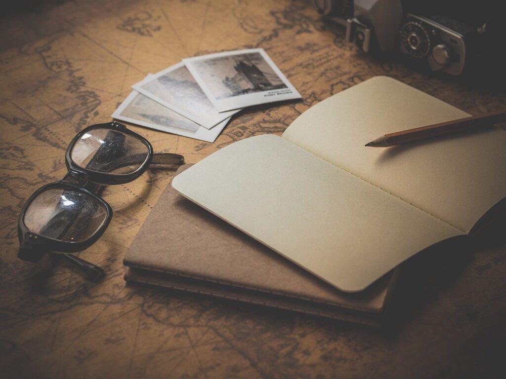 ノートが写っている写真